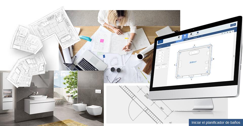 Sonar Con Baño O Inodoro:Planificador de baños de Villeroy & Boch – diseñar el baño de sus