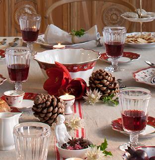 Mesas de navidad modernas y tradicionales de villeroy boch for Villeroy boch navidad 2017